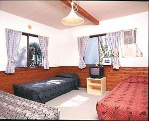 かわいい雰囲気の客室