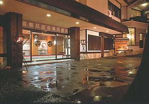 吉田屋和光(旧:ホテル和光)の外観