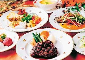豪華フルコースデイナー付1泊2食お泊りプラン