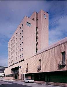 ホテルサンルート徳山の外観