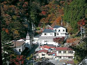 梅ヶ島温泉ホテル 梅薫楼の外観