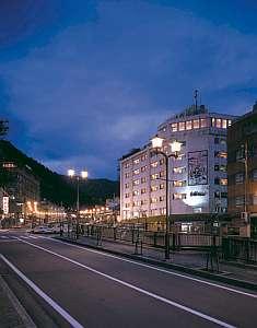 下呂温泉 白樺ホテルの外観