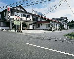 民宿 峠の茶屋の外観