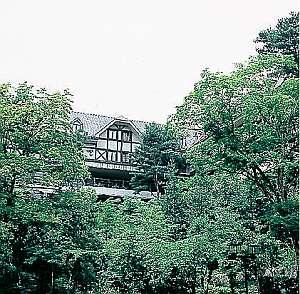 緑の中のホテルマロウド箱根