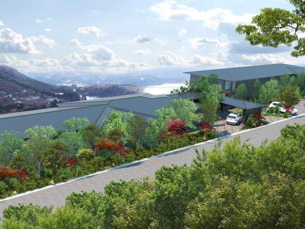 ホテル四季の館箱根芦ノ湖(2022年2月17日グランドオープン)の写真その2