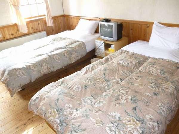 寝室です。明るく落ち着いた雰囲気