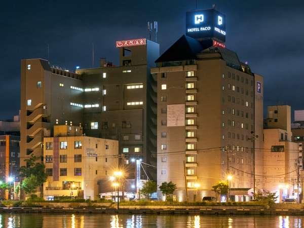 ホテルパコ釧路 外観