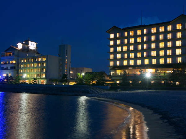 【外観】全室オーシャンビュー!海の四季を楽しめる、ホテルの気軽さと旅館の寛ぎを体感ください。
