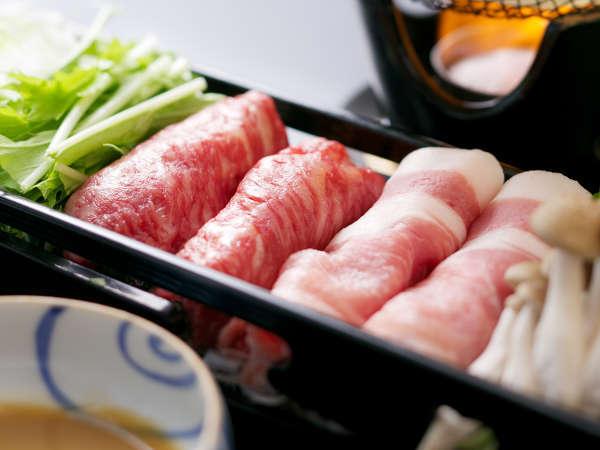 【肉づくし会席】和牛やブランド豚、地鶏などのお肉をいろんな調理方法でご用意。