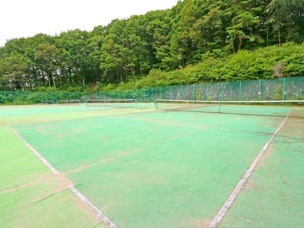サクラリゾートのテニスコート★