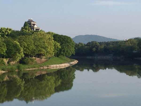 〈無料駐車場完備〉岡山城を眺めながら…ご朝食付プラン【朝付・禁煙】