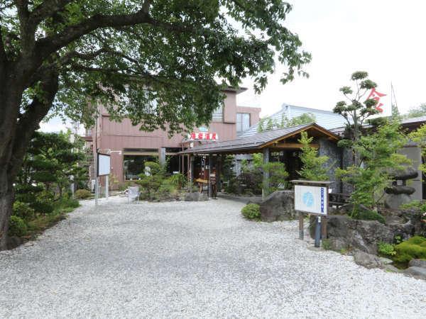 旅館 熔岩温泉の外観