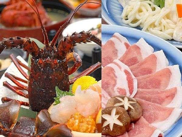 鹿児島名物「黒豚」や秋の味覚「伊勢海老」などおいしいものがいっぱいです。