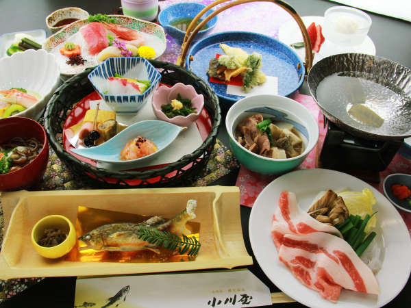 【コンセプトプラン】地元食材にとことんこだわった◆小川屋の地産地消の特選料理◆ごっつぉプラン*個室食