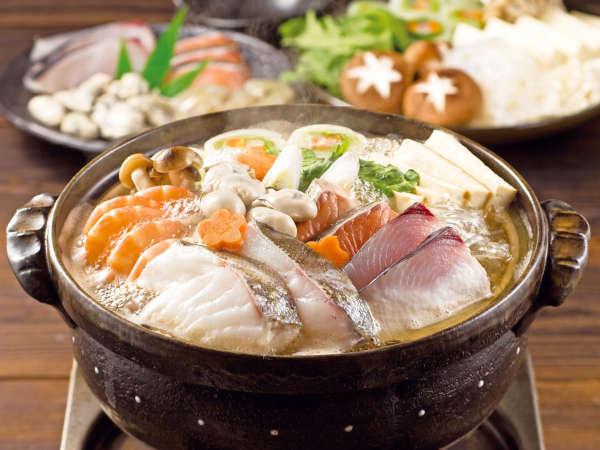 【冬季あったか企画(1)】あったか大作戦!海鮮鍋×ぽかぽか『ふかし湯』で芯からあたたまろう♪