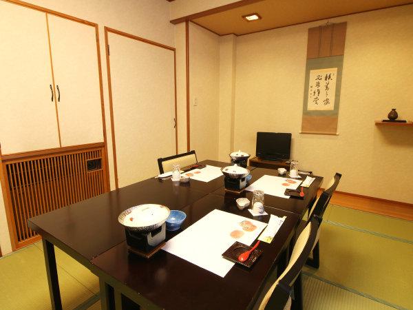 ■お食事処/お食事は安心の個室で。ゆったりと小川屋のお食事を楽しんで。