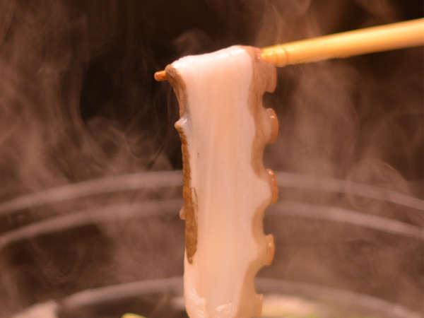【志津川タコしゃぶプラン】鮑を食べているグルメなタコをしゃぶしゃぶ♪もちろん鮑の踊焼き付海鮮御膳も!