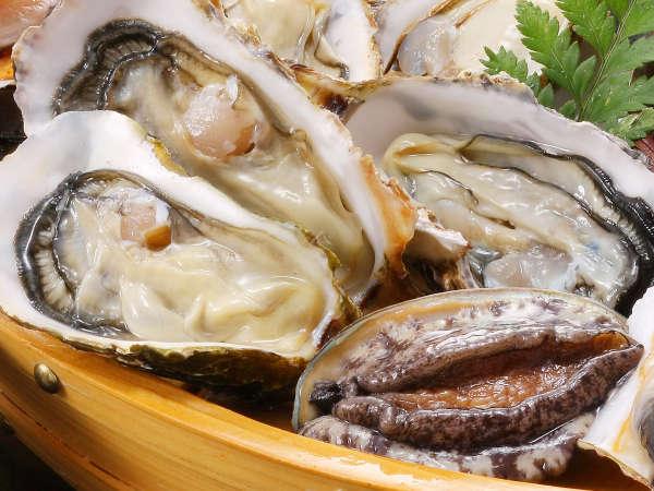 期間限定【旬の牡蠣あわびプラン】カキ鍋!かきの天ぷら!蒸し牡蠣とカキ茶碗蒸しも!まさに牡蠣三昧♪