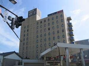 ホテル・アルファ-ワン高岡の外観