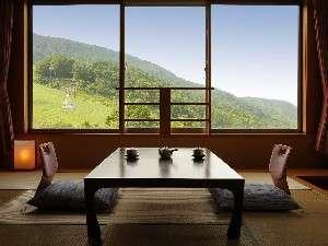 ◆【特別室】蔵王の山々を一望できるとても眺めの良いお部屋です。