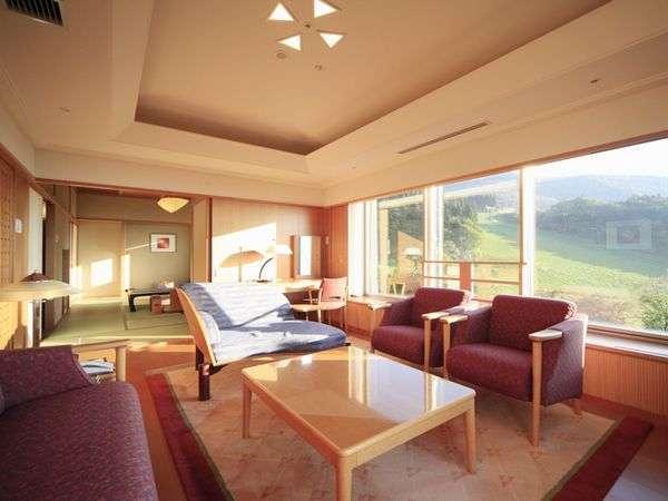 ◆【特別室】蔵王国際ホテル随一のデラックスなお部屋が特別室です。