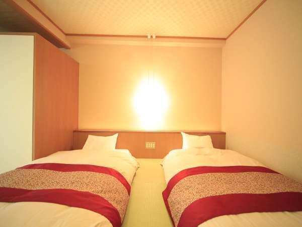 ■和ベッド/和モダンの雰囲気が心地よいお部屋