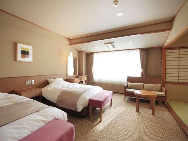 ■和洋室/ベッドの洋室も、畳の和室も楽しめる和洋室