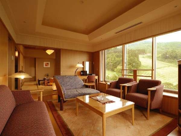 ■特別室/和室2部屋と応接間のある開放的な客室