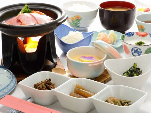 ■朝食【和定食】/宿泊状況により和定食となる場合がございます。  ※一例