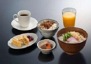 88うどん(朝食)