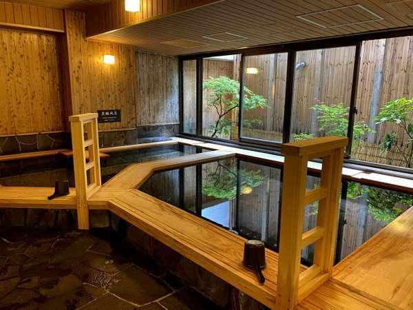 ◆男性大浴場 内風呂2020年6月27日より男性大浴場リニューアルいたしました!