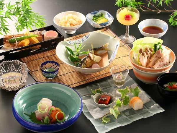 ≪基本和会席≫信州の食材を中心にご用意しております。
