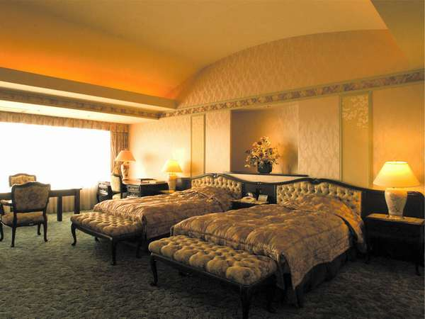 常盤ホテル 平成13年、天皇陛下にお泊まりいただいたお部屋 写真提供:じゃらんnet