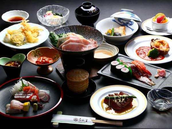 ■夕食■松会席料理長オススメのグレードアップ会席です☆彡