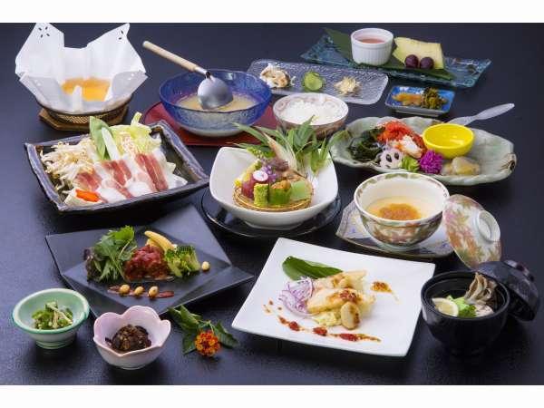 《料理長厳選♪夏の美食旅へ》健康・美容に!夏の特別美食会席コース