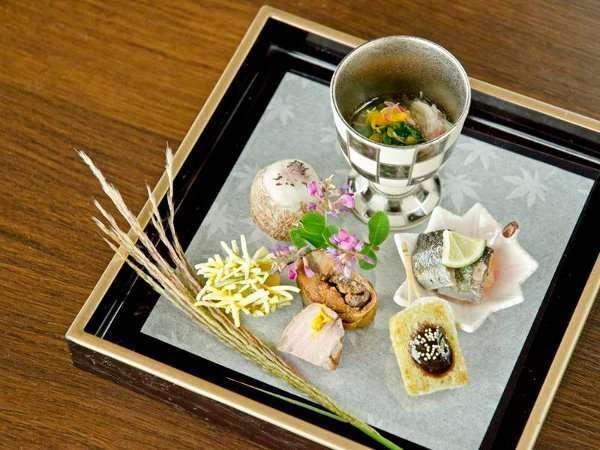 旬菜ダイニング「白樺」【ご夕食】特別懐石コース