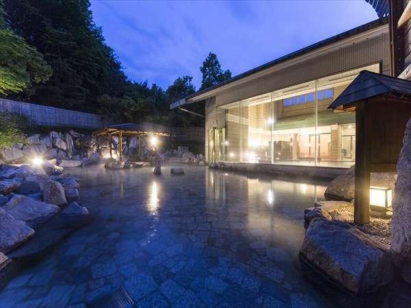【大露天風呂】『クチコミ4点以上のエリア最大級の露天風呂』と伊賀の城下町散策プラン 1泊朝食付