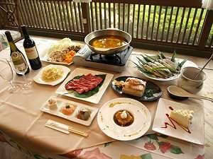*地元食材を使った和洋食