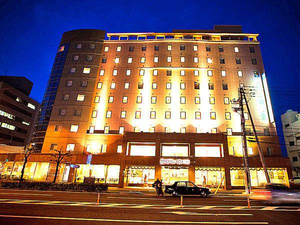 ホテルNo.1高松の外観
