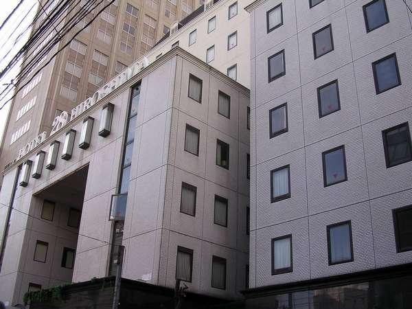 ホテル28広島の外観