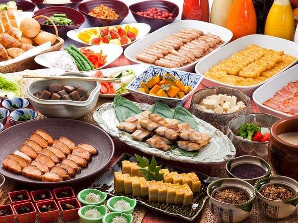【直前予約】多彩な和洋バイキングと絶品オムレツ♪1泊朝食付きプラン