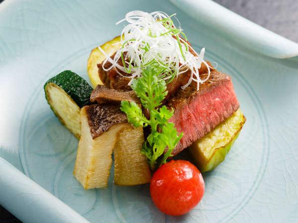 【1泊2食付】日本料理ディナープラン≪選べる!甲州牛会席≫