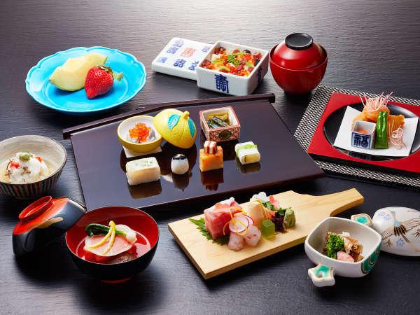 【1泊2食付】日本料理ディナープラン≪料理長渾身の特別会席「火山」≫