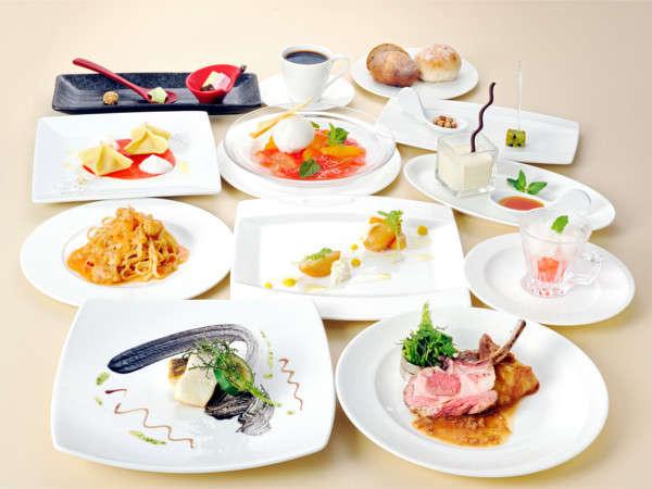 【美味旬旅】約50種類の朝食バイキングとイル・モメントでのシェフおまかせイタリアンディナー付きプラン