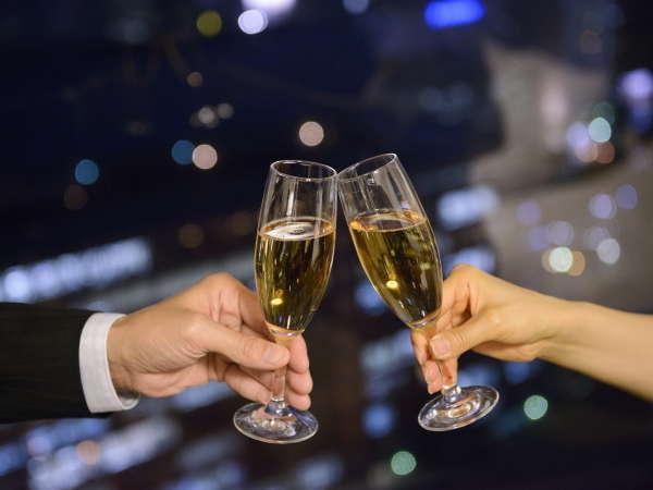 【シャンパンで乾杯して楽しい想い出に】-Celebration-プラン/カップルで記念日やお祝いに・・(朝食付)