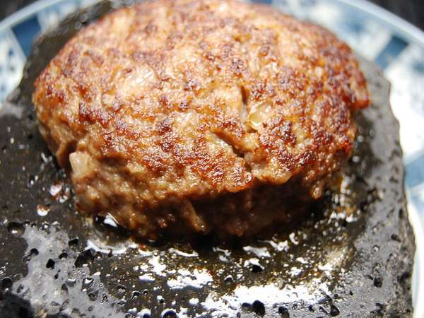石焼き佐賀牛ハンバーグ・活きイカプラン