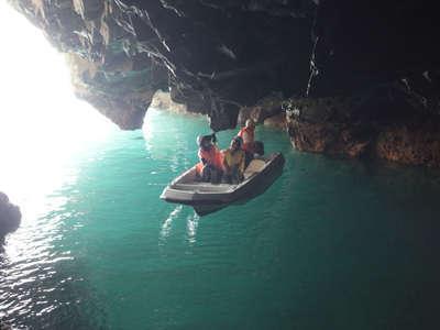 【夏休みファミリープラン】嬉しい特典♪青の洞窟さっぱ船の乗船券付きビュッフェプラン