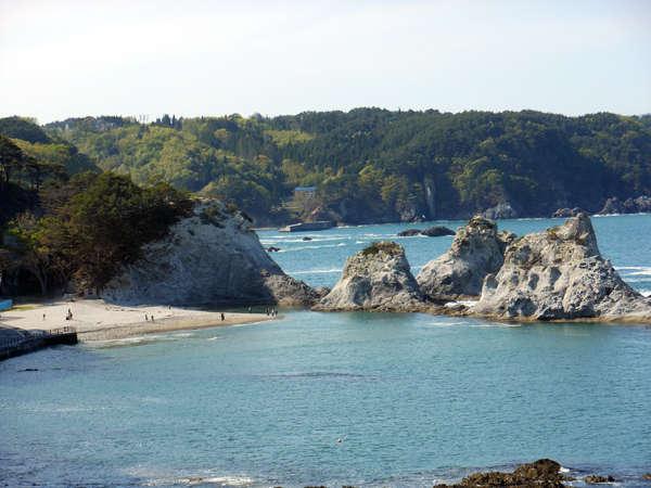 【ガイド付き】国の名勝「浄土ヶ浜」自然散策付1泊2食付きビュッフェプラン