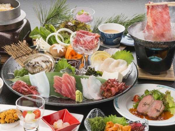 【基本プラン】三陸の幸を堪能!名勝「浄土ヶ浜」を楽しもう!ご夕食はレストランで和食膳プラン