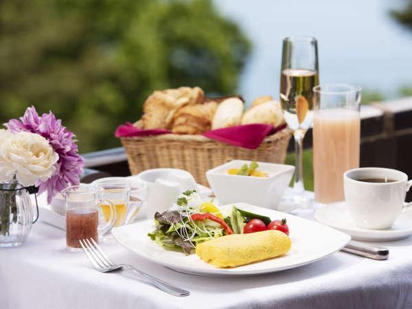 好きな分だけ存分に楽しめる朝食ビュッフェ_例